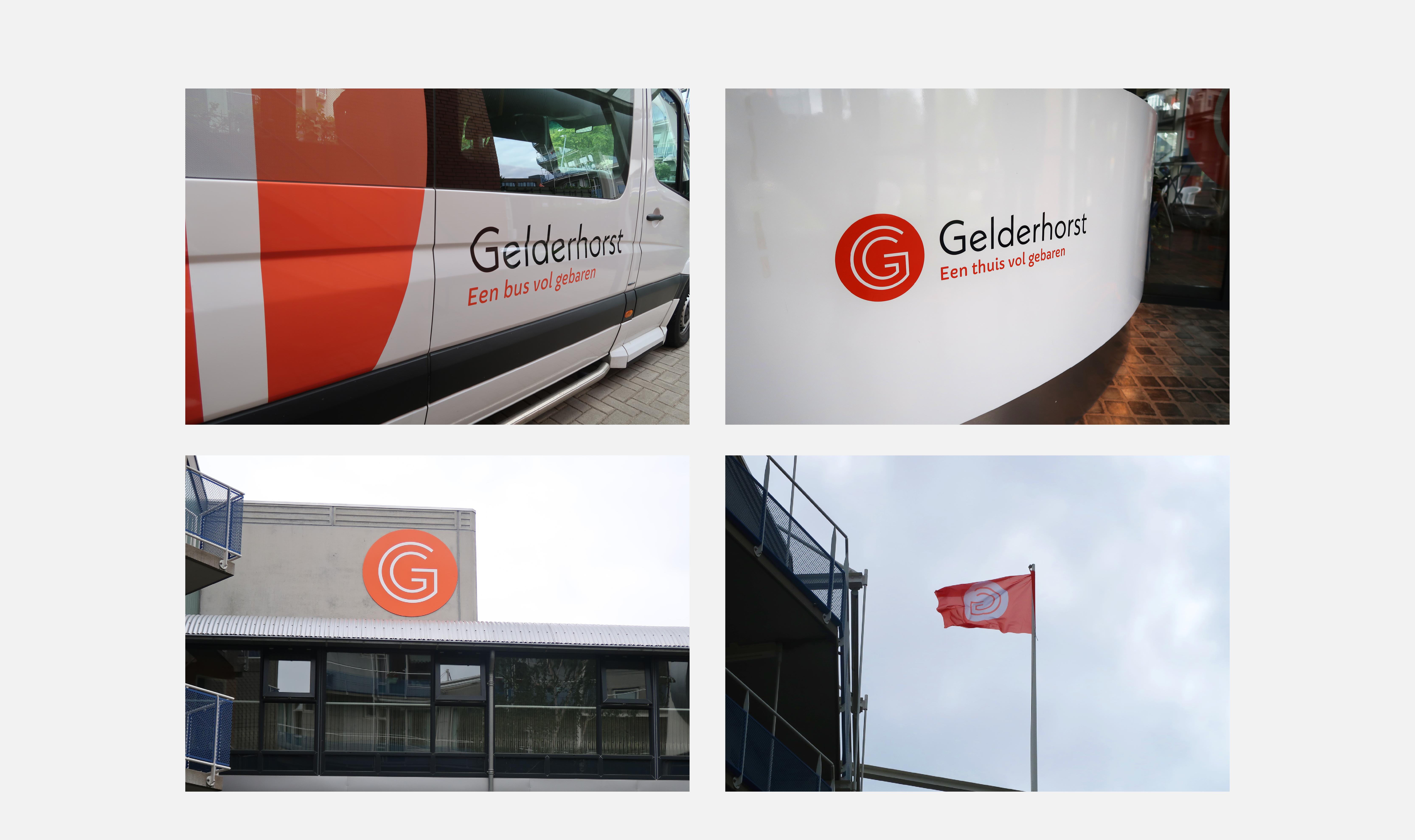 Nieuw logo voor de Gelderhorst