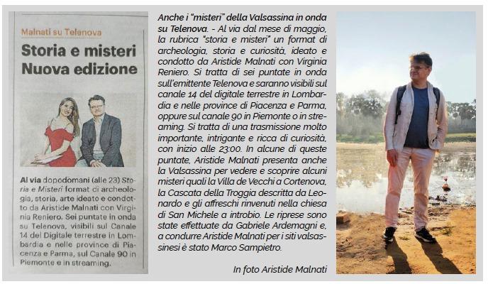 Articolo Immagine Valsassina Storia e Misteri la Valsassina su Telenova foto di Gabriele Ardemagni