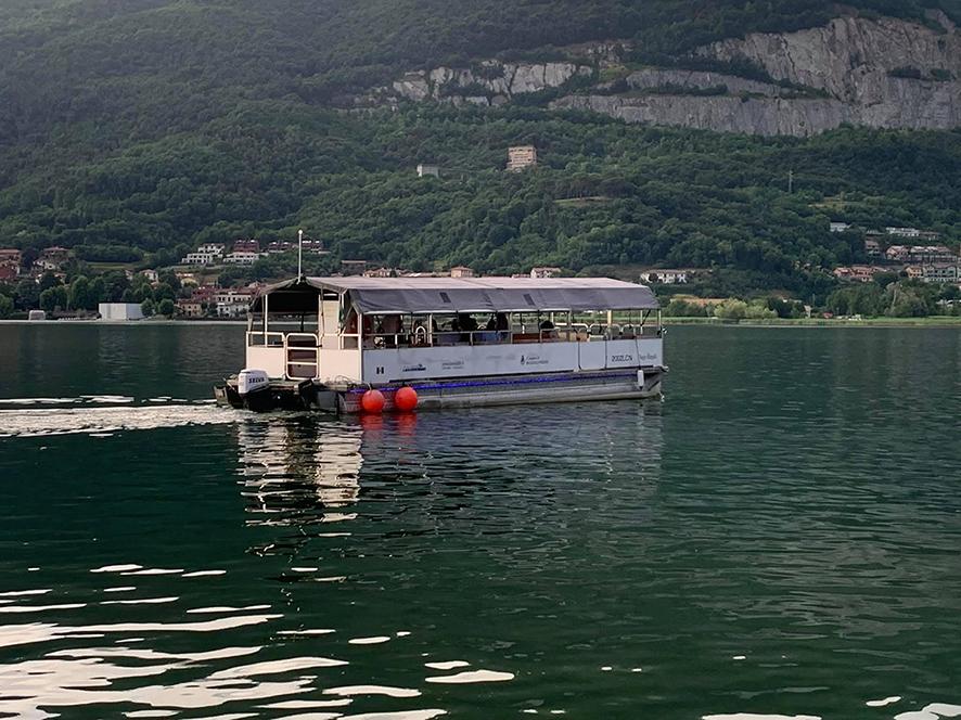 Bosisio Parini - Eco-navigazione Lago di Pusiano