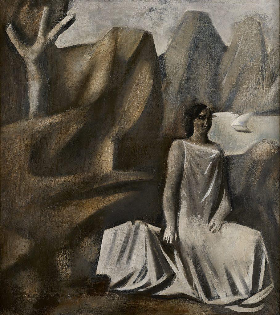 Mario Sironi Composizione (La fata della montagna), 1928 - © by SIAE 2021