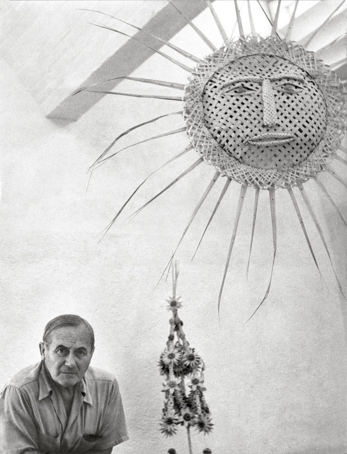 Joan Miró nell'atelier Sert, Palma di Maiorca 1957. Photographic Archive Francesc Català-Roca. Archivio Successió Miró