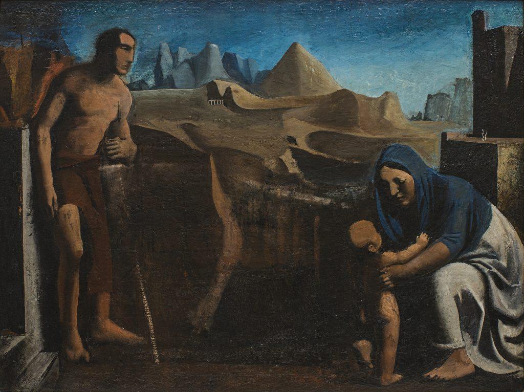 Mario Sironi La famiglia (La famiglia del pastore), 1927-28 - © by SIAE 2021