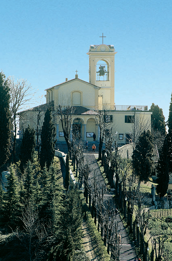 Montevecchia - Santuario Beata Vergine del Monte Carmelo