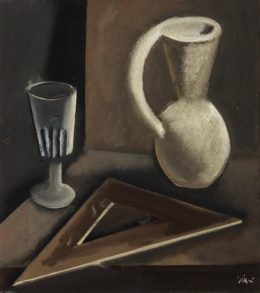Mario Sironi Natura morta, 1924 - © by SIAE 2021