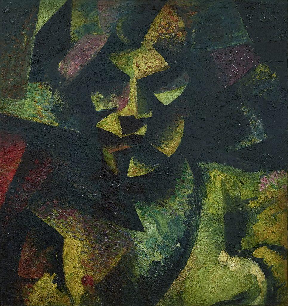 Mario Sironi Testa-1913-©-by-SIAE-2021