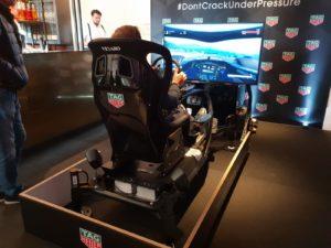 Branding race simulatoren op evenementen