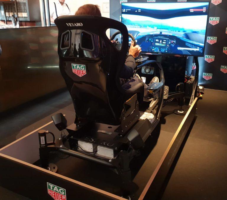Bewegende 4D Racesimulator huren in Nederland