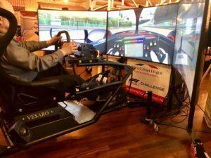 Branding race simulatoren op events