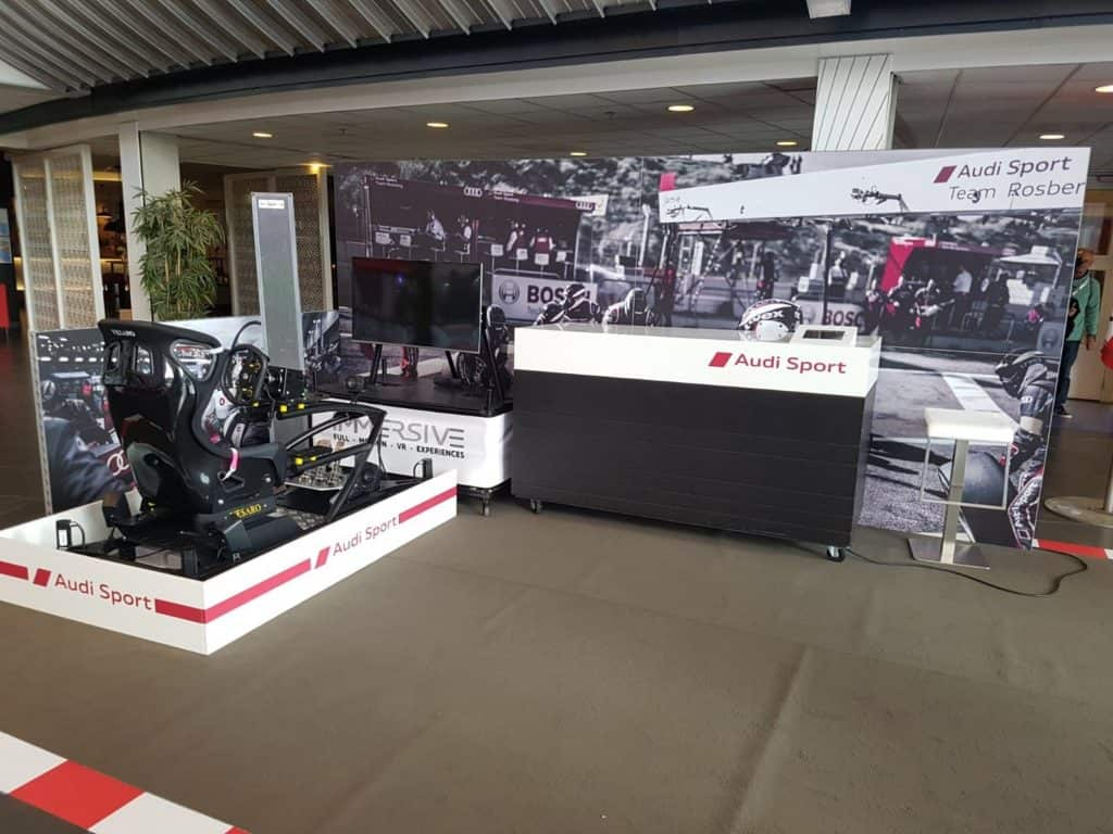 Audi Sport Race simulator huren