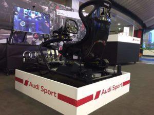 De bewegende 4D motion race simulator huren is ideaal voor BMW, PON, Mercedes, autobedrijven en automotive partners