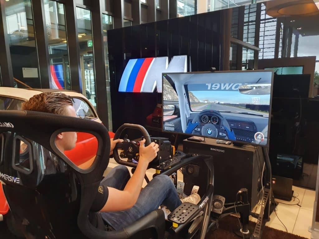 Race simulator huren BMW