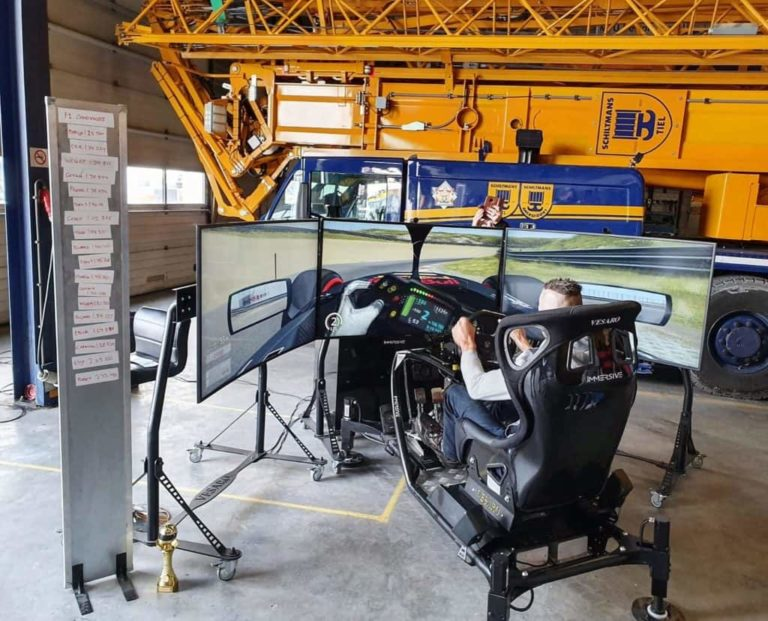 Simulator te huur in nederland en belgie