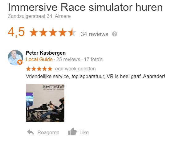 reviews immersive simulator huren