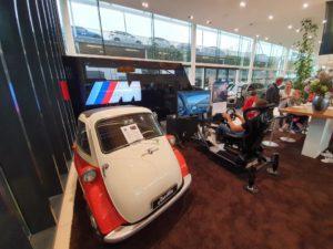 BMW mini Race simulator