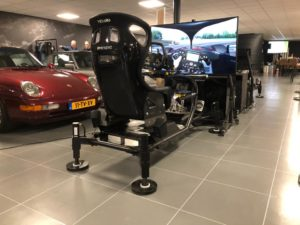 Race simulator Jan lammers op bezoek
