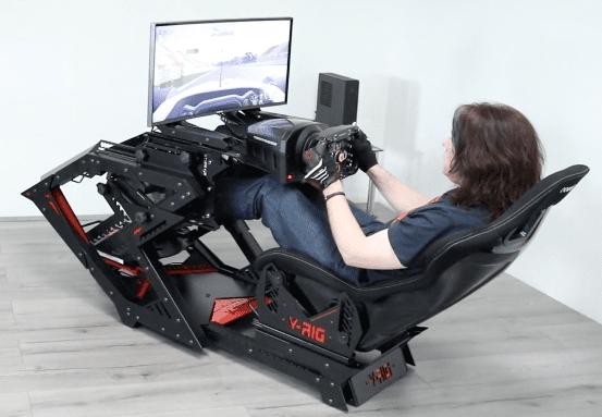 v-rig race simulator huren