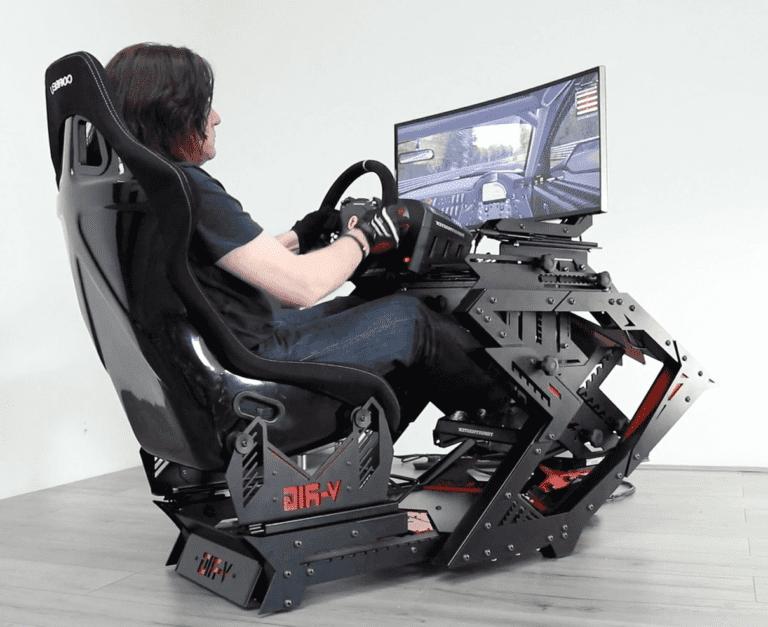 V-rig GT3 stand race simulator huren
