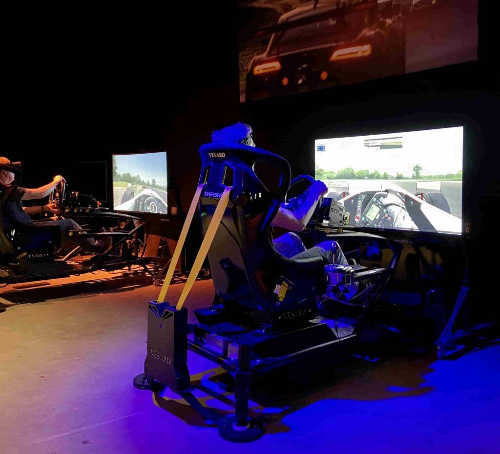 Bewegende Vesaro 4D Motion Simulator beleven