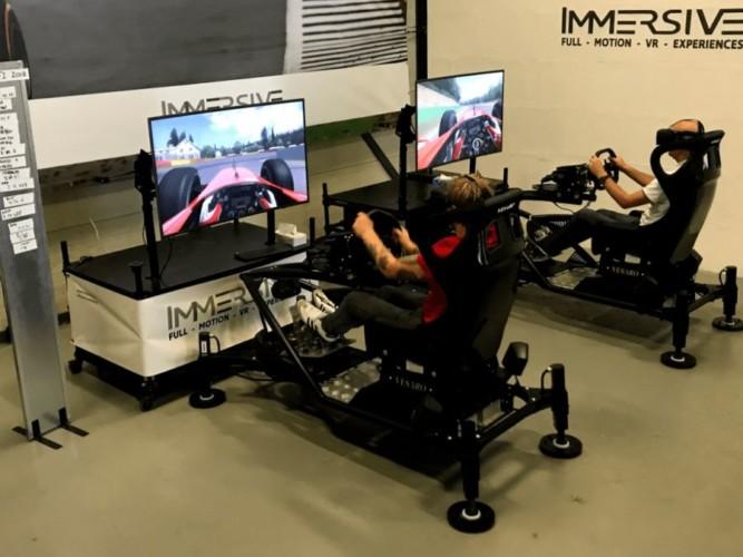 2 heats 4D VR Racen