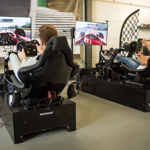 Playseat Immersive Race simulator huren