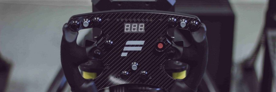 Fannatec race stuur huren simulator