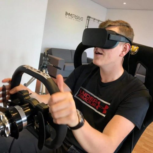 Immersive experience beleving