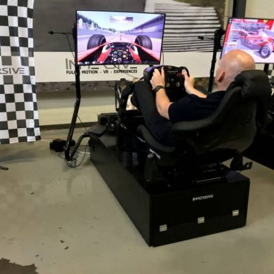 PLayseat Race Simulator immersive