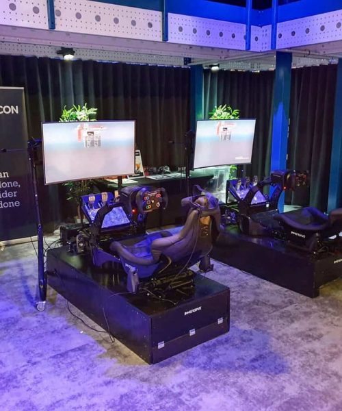 Playseat huren op locatie in Almere, Amsterdam, Utrecht, Hilversum of Nederland