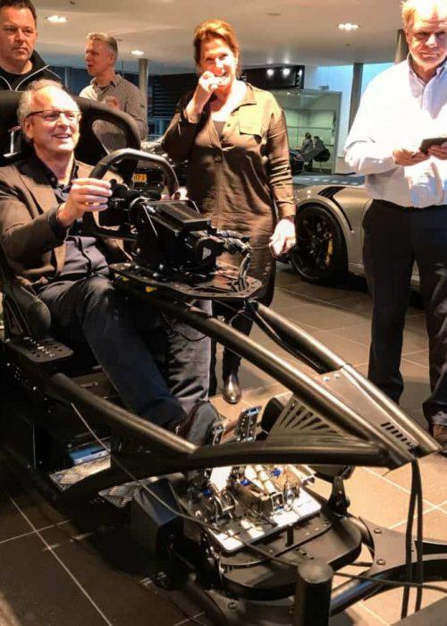Porsche club race simulator huren