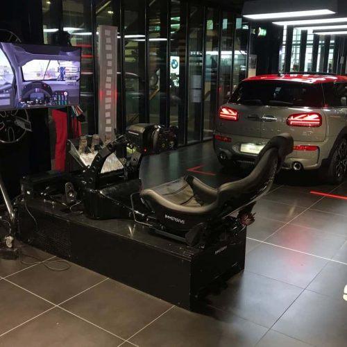 Race simulator BMW MINI event -min