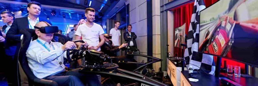 Race simulator huren belgie