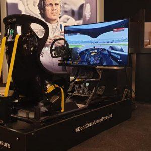 Race simulator ultimate gordelsysteem