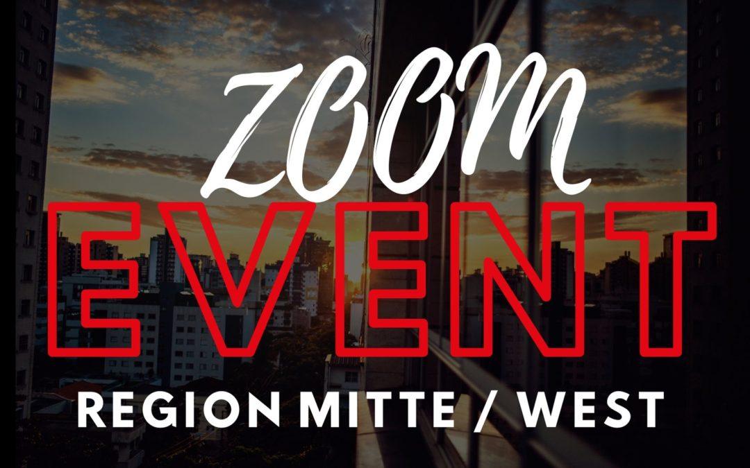 5. August – Real Estate Talk Region West / Mitte @Zoom