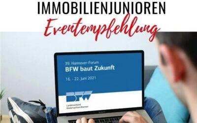 BFW Niedersachsen / Bremen: Hannover-Forum 2021