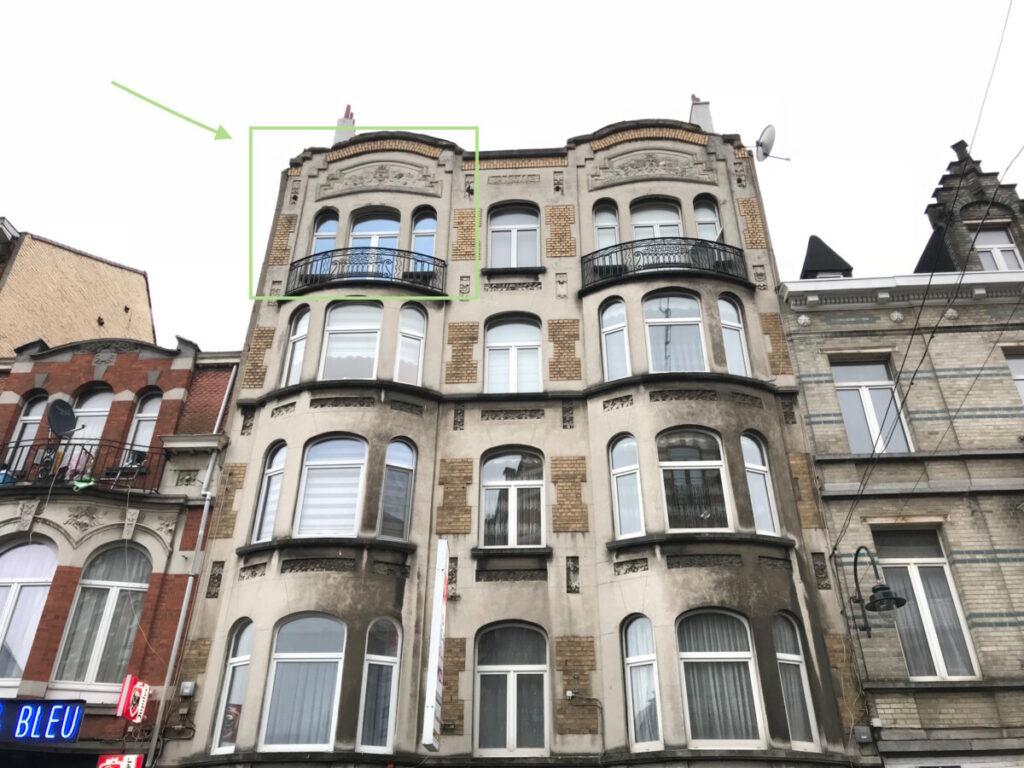 Te koop appartement Brussel centrum