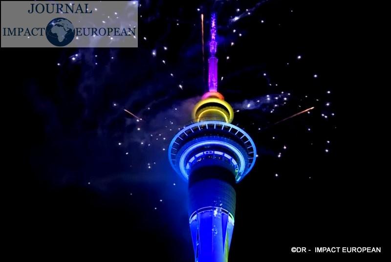New Year's 2020: Auckland, New Zealand / Nouvel an 2020: Auckland, Nouvelle-Zélande