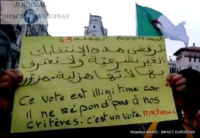 03.Alger contre le nouveau président élu