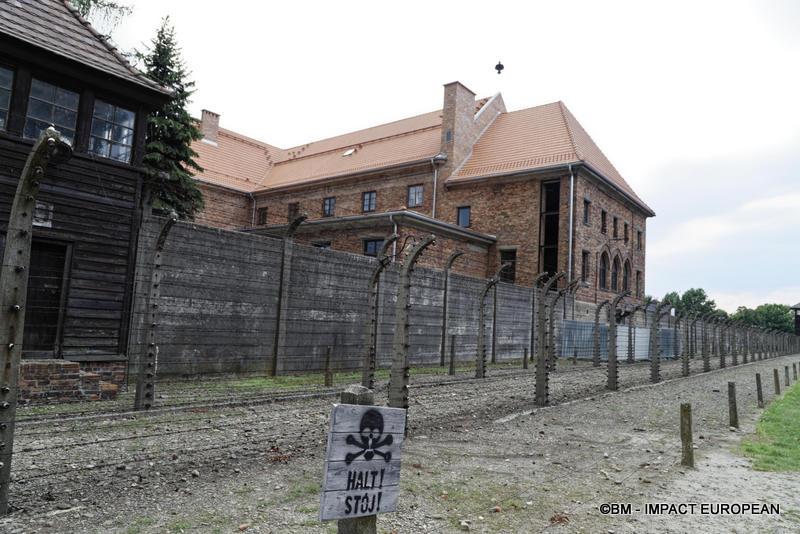 Camp d'extermination d'Auschwitz I(Pologne)