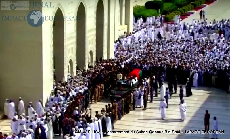 L'enterrement du Sultan Qabous Bin Saïd