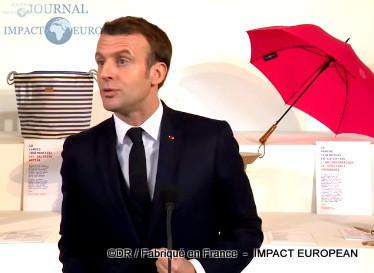 Emmanuel Macron - Fabriqué en France