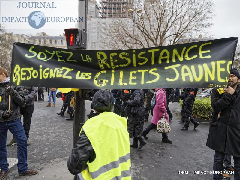 Manif retraite 9 janvier 2020 / BM - Impact European