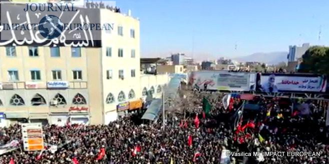 funérailles du général iranien Qassem Soleimani 2