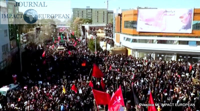 funérailles du général iranien Qassem Soleimani 3