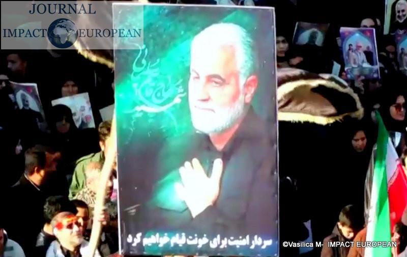 funérailles du général iranien Qassem Soleimani 4