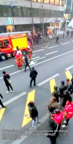 Incidents autour du concert de l'artiste contre-versé congolais Fally Ipupa 6