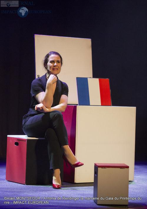 Antonia de Rendinger la marraine du Gala du Printemps du rire 3