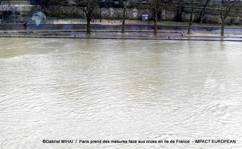 Paris prend des mesures face aux crues