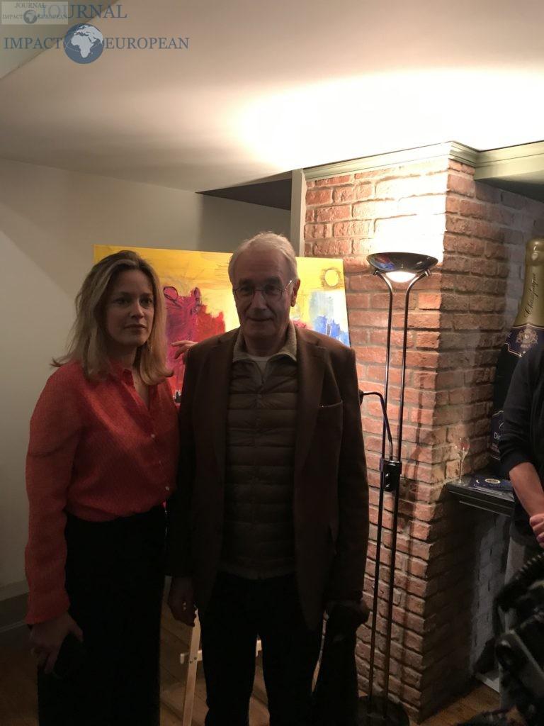 Caroline Faindt et Bernard Le Coq