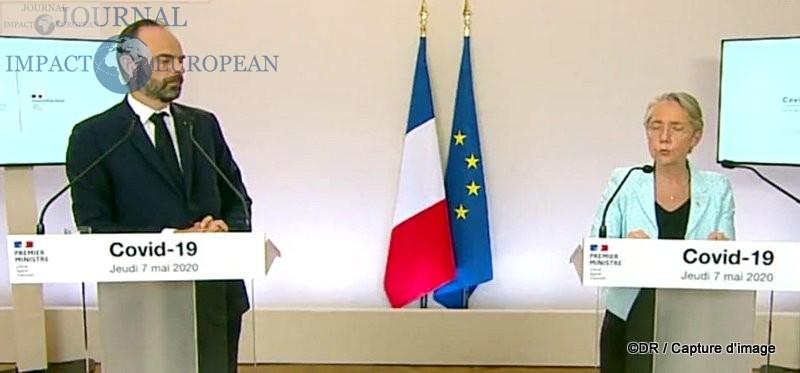 Edouard Philippe (Premier ministre) et Elisabeth Borne (Ministre de la transition écologique et solidaire, chargée des transports)