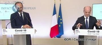Edouard Philippe (Premier ministre) et Jean-Michel Blanquer (Éducation)